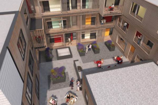 courtyard_PDX-Commons-Cohousing